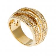 Anillo Dynamic Gold