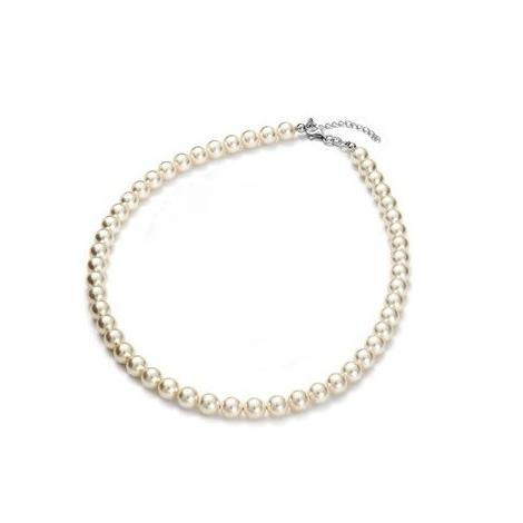 Collar Princess White con Perlas de Swarovski