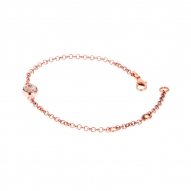 Pulsera Shimmered Rose
