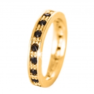 Anillo Astral Gold Black