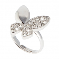 Anillo Butterfly Silver
