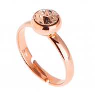 Anillo Shimmered Rose