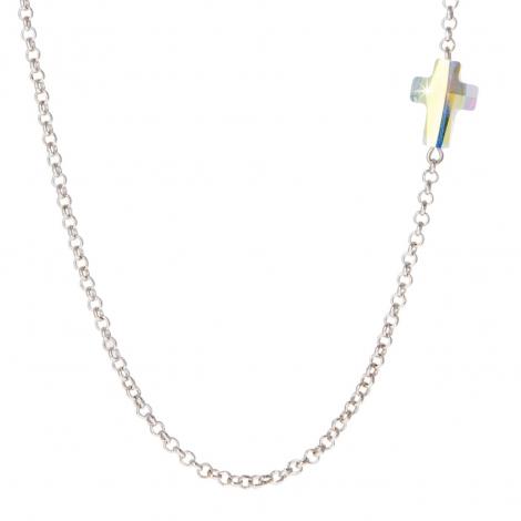 Gargantilla Cross Crystal