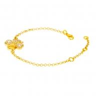 Pulsera Clover Gold