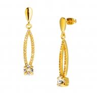 Pendientes Parisine Gold