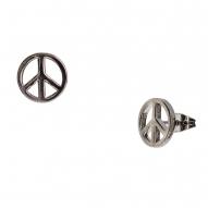 Pendientes Peace Black