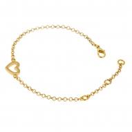 Pulsera Heart Gold