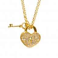 Colgante Padlock Gold