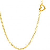 Colgante Heart Gold