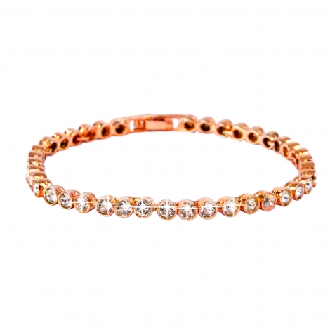 Pulsera Tennis Rose