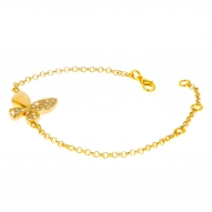 Pulsera Butterfly Gold