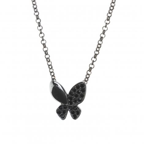 Colgante Butterfly Black