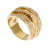 Anillo Dynamic Gold