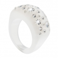 Anillo Magnetism White