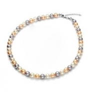 Collar Princess Peach con perlas de Swarovski