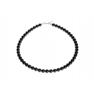 Collar Princess Black con Perlas de Swarovski negras