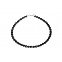 Collar Princess Black con Perlas de Swarovski